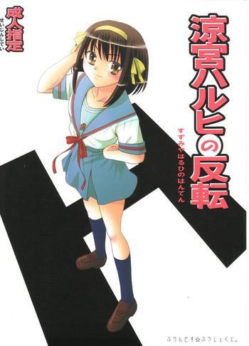 suzumiya haruhi no hanten cover
