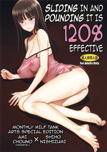 zuryu tto irete zubozubo tto yareba gekiharitsu 120 sliding in and pounding it is 120 effective cover